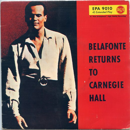 "HARRY BELAFONTE ""Belafonte returns to Carnegie Hall"" EP"
