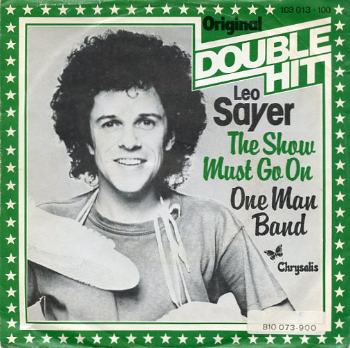 "LEO SAYER ""The show must go on"" (Double Hit)"