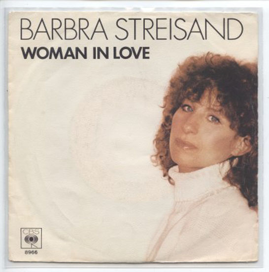 "BARBRA STREISAND ""Woman in love"""
