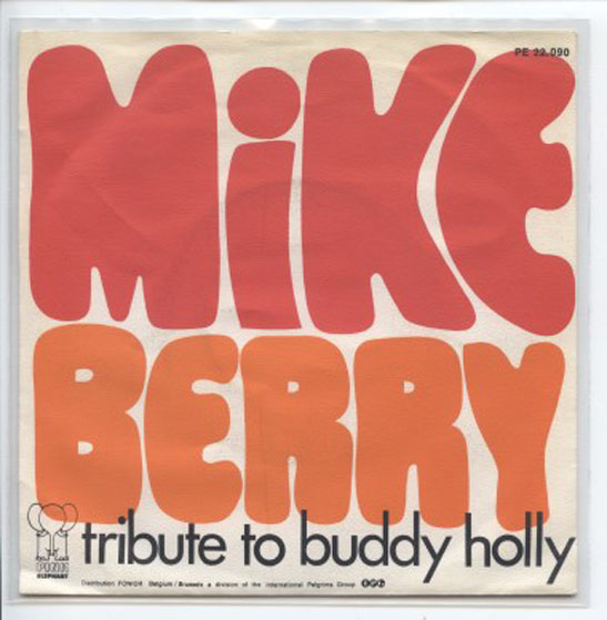 "PE 22.090 MIKE BERRY ""Tribute to Buddy Holly"" (b)"