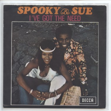 "SPOOKY & SUE ""I've got the need"" (b)"