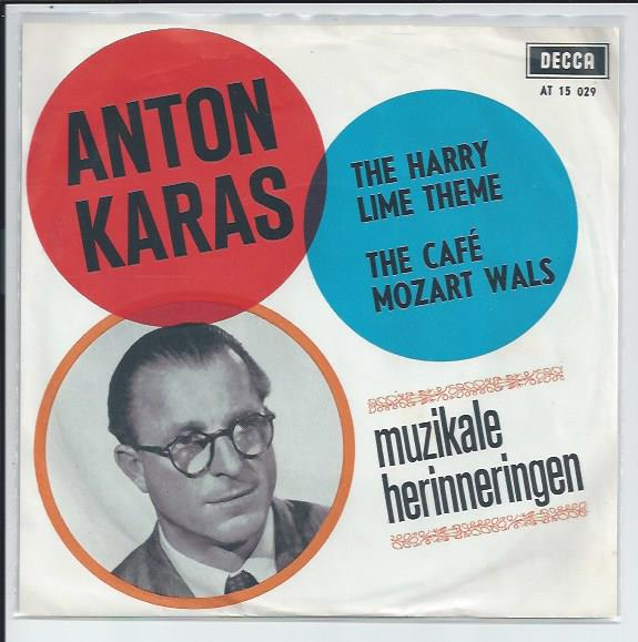"ANTON KARAS ""The Harry Lime theme"""