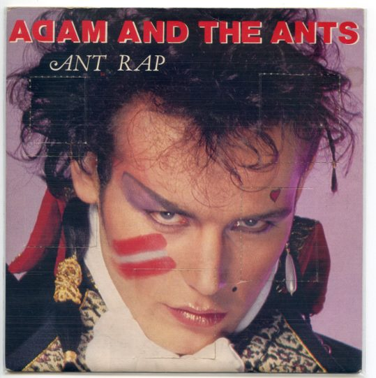 "ADAM & THE ANTS ""Ant rap"""
