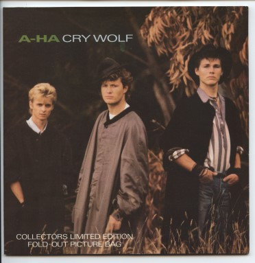 "A-HA ""Cry wolf"" ((fold-out picture bag)"