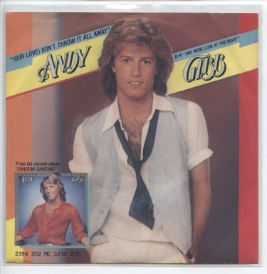 "ANDY GIBB ""Don't throw it all away"""