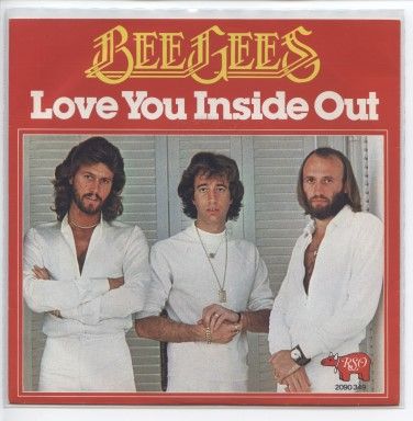 "BEE GEES ""Love you inside out"""