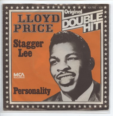 "Double Hit LLOYD PRICE ""Stagger Lee"""