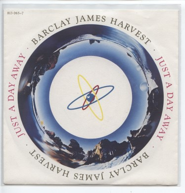 "BARCLAY JAMES HARVEST ""Just a day away"""