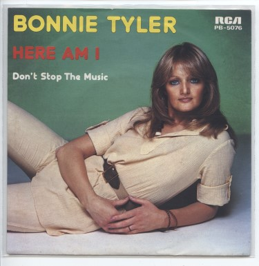 "BONNIE TYLER ""Here am I"""