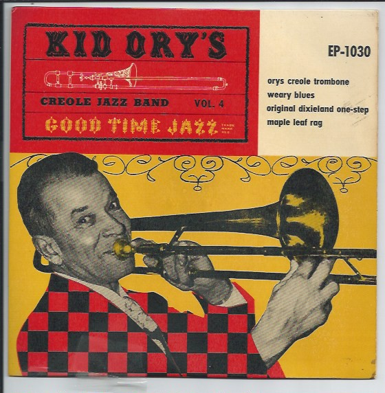 "KID ORY'S CREOLE JAZZ BAND ""Good Time Jazz vol. 4"" EP"