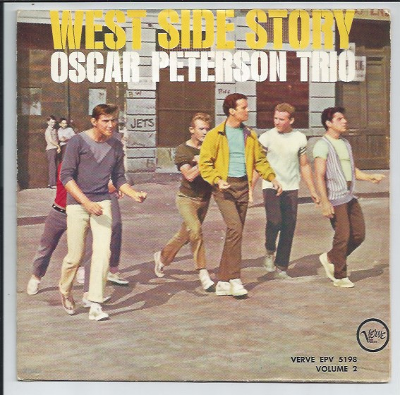 "OSCAR PETERSON TRIO ""West Side Story vol. 2"" EP"
