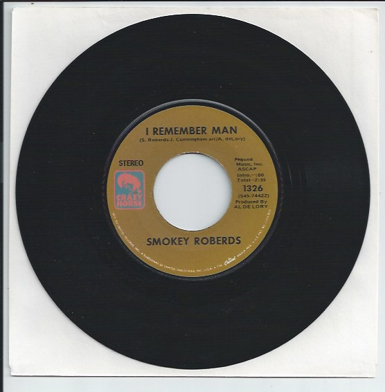 "SMOKEY ROBERDS ""I remember man"""