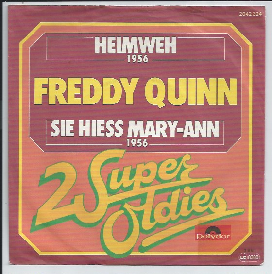 "2 Super Oldies ""FREDDY QUINN"" (jb)"