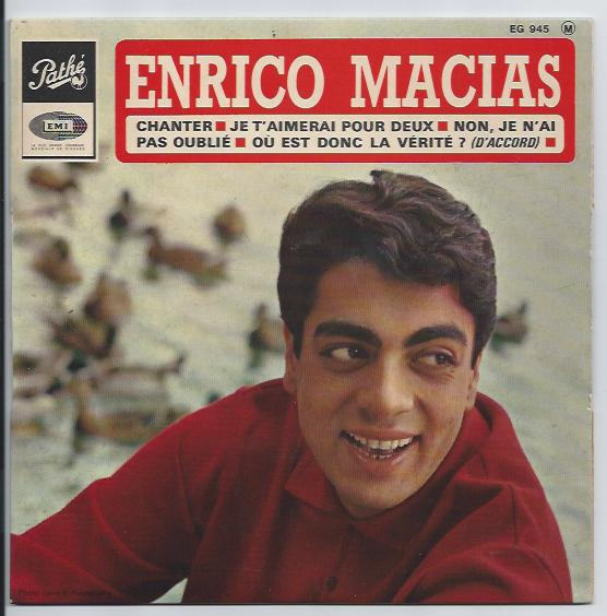 "ENRICO MACIAS ""Chanter"" EP"