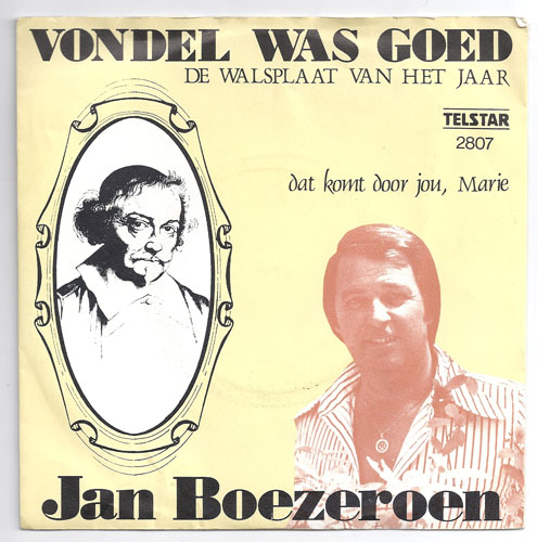 "Telstar 2807 JAN BOEZEROEN ""Vondel was goed"""