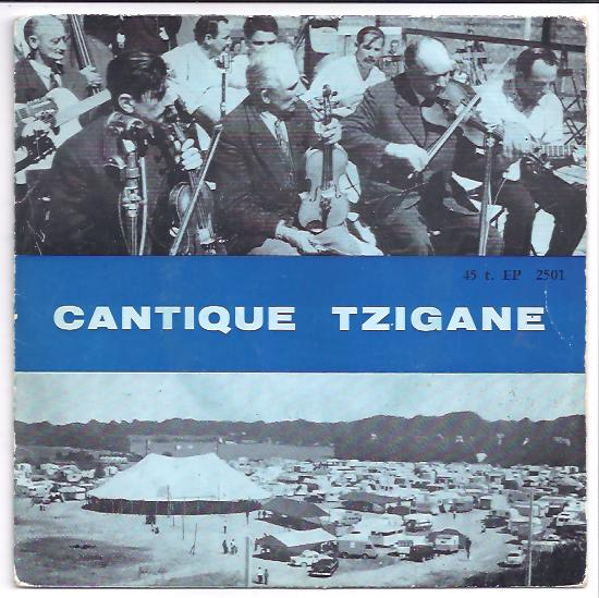 "CANTIQUE TZIGANE ""Richard Metbach"" EP"