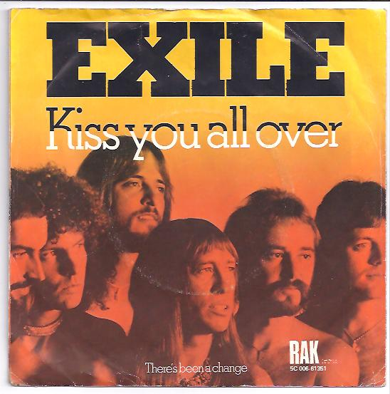"EXILE ""Kiss you all over"""