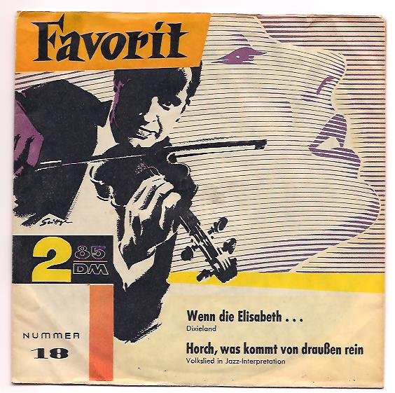 "Favorit 18 ONKEL TOM'S DIXIE BAND ""Wenn die Elisabeth..."""