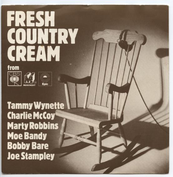 FRESH COUNTRY CREAM Various Artists Promo-single