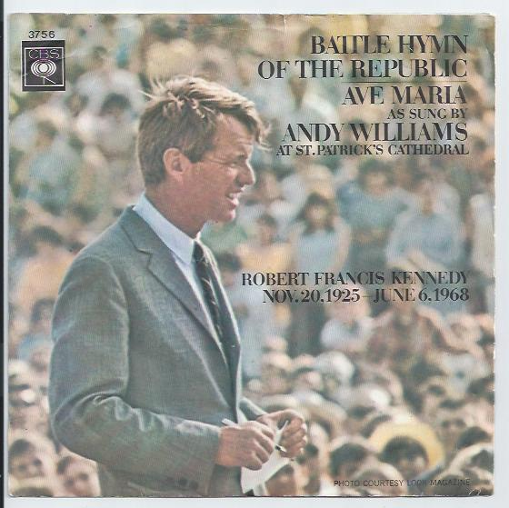"ANDY WILLIAMS ""Battle hymn of the republic"""