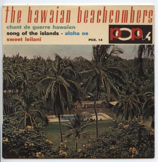 "HAWAIIAN BEACHCOMBERS ""Chant de Guerre Hawaien"" EP"