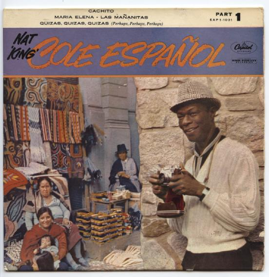 "NAT KING COLE ""Cole Español "" EP"