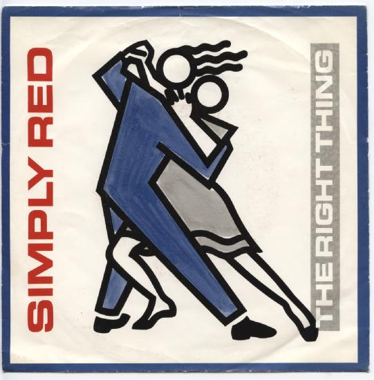 "SIMPLY RED ""The right thing"""