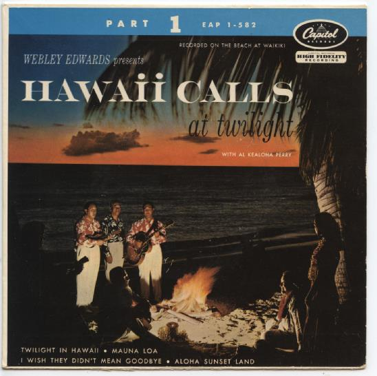 "HAWAII CALLS ""Twilight in Hawaii part 1"" EP"