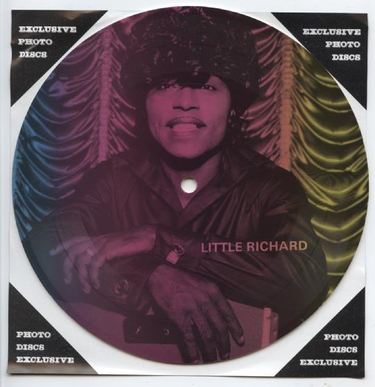 "LITTLE RICHARD ""Masters of Rock & Roll vol. 1 PR 16 (Pict.disc)"