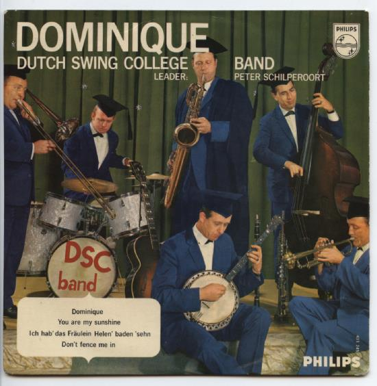 "DUTCH SWING COLLEGE BAND ""Dominique"" EP"