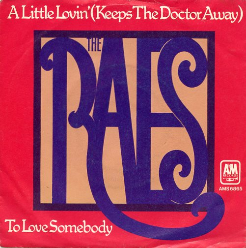 "THE RAES ""A little lovin' (keeps the doctor away)"""