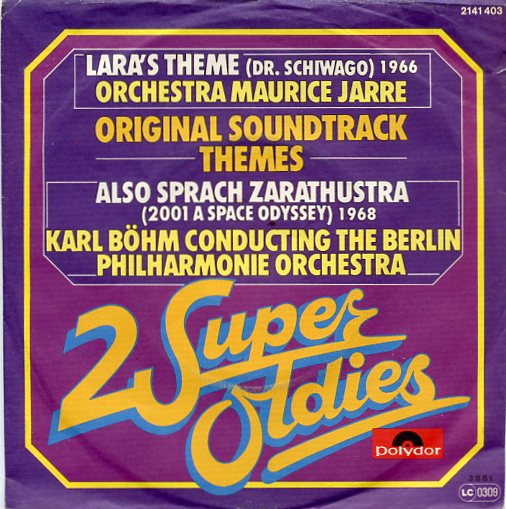 "2 Super Oldies ""Doctor Schiwago & Zarathustra"""