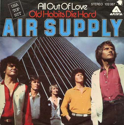 "AIR SUPPLY ""All out of love"""