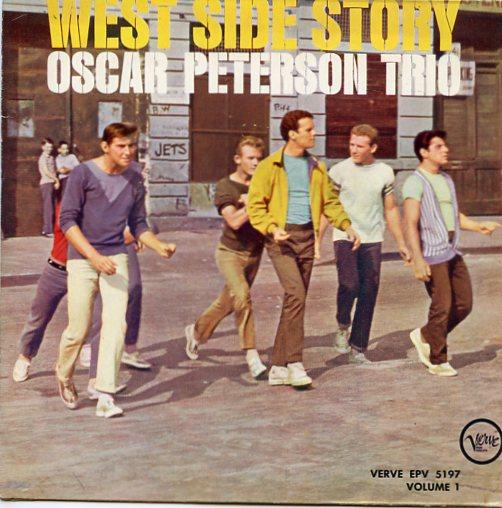 "OSCAR PETERSON TRIO ""West Side Story vol. 1"" EP"