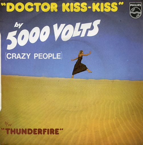 "5000 VOLTS ""Doctor Kiss-Kiss"" (fr)"