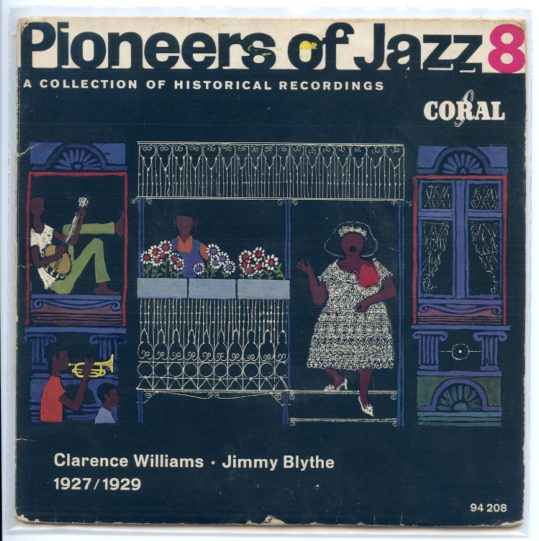 PIONEERS OF JAZZ, VOL. 8 ep
