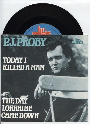 "P.J.PROBY ""Today I killed a man"""