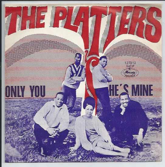 THE PLATTERS Mercury 127312 MCF (ONLY cover, ALLEEN de Hoes)