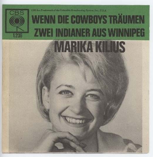 MARIKA KILIUS CBS 1.236 (ALLEEN DE HOES) (Only the Cover)