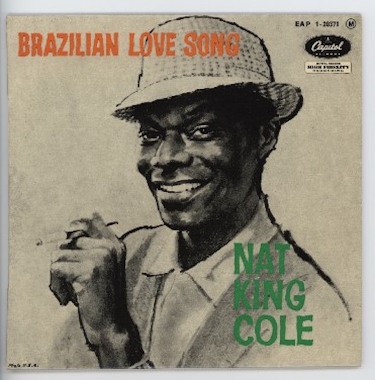 "NAT KING COLE ""Brazilian love song"" EP"