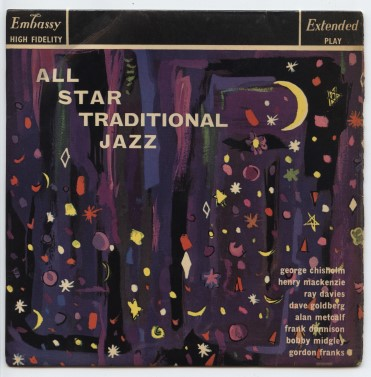 "MIDNIGHT JAZZMEN ""All-star traditional Jazz"" EP"