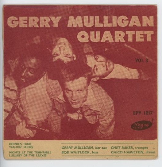 "GERRY MULLIGAN QUARTET ""Gerry Mulligan Quartet vol. 3"" EP"