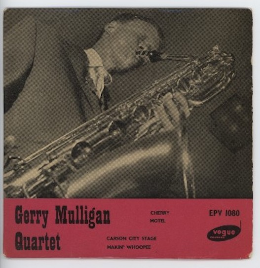 "GERRY MULLIGAN QUARTET ""Gerry Mulligan Quartet "" EP"