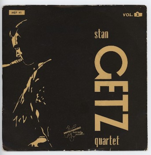 "STAN GETZ QUARTET ""Stan Getz vol. 2"" EP"