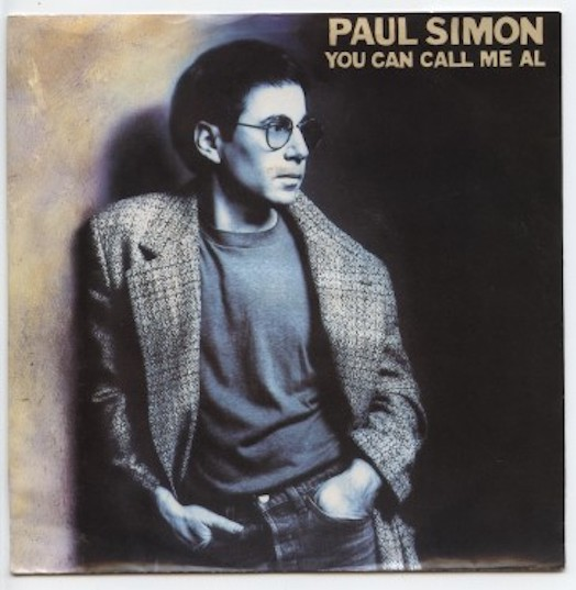 "PAUL SIMON ""You can call me al"""